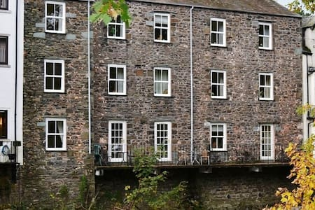 Keswick - Ground Floor Riverside Holiday Apartment