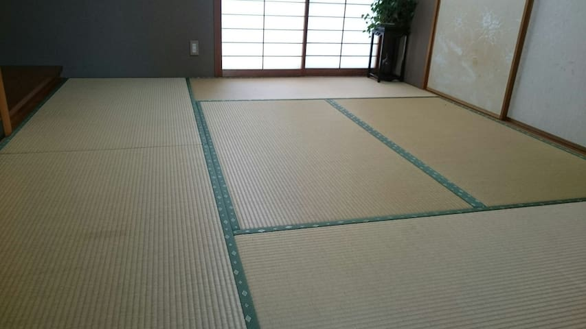 Japaneas tatami room