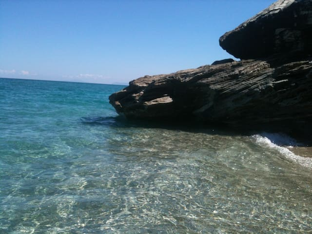 STONE VILLA WITH Aegean sea view - Magnisia - Villa