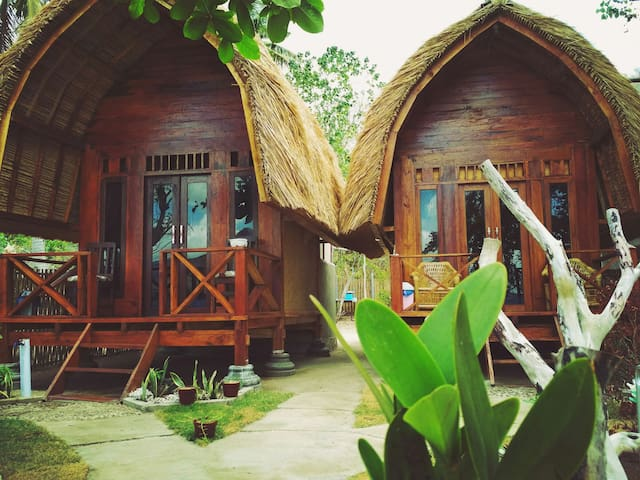 Why not bungalow gili gede nature and honestly