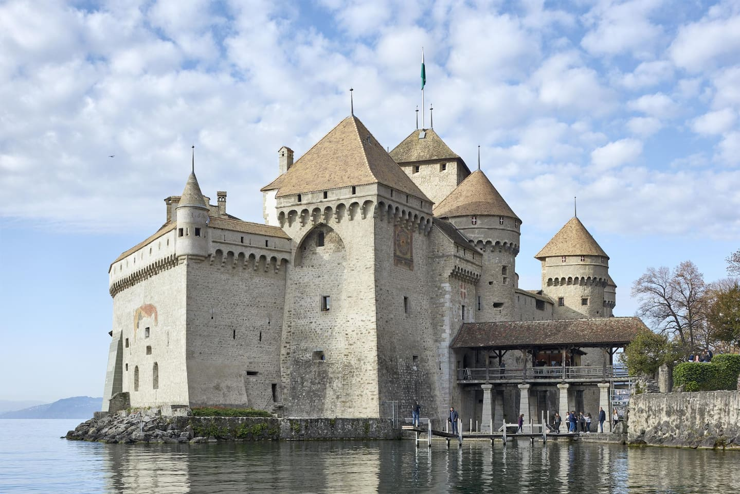 The chateau de Chillon (only 15 minutes by car).
