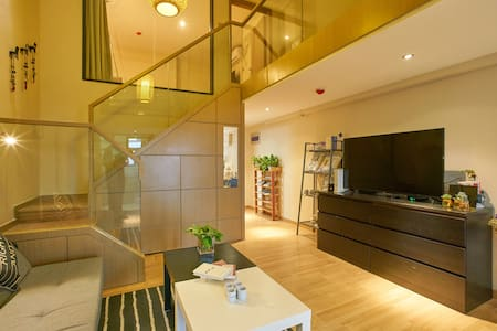 「36.4°」嘉定地铁11号线,直达迪斯尼的现代设计豪华套房可居住4人