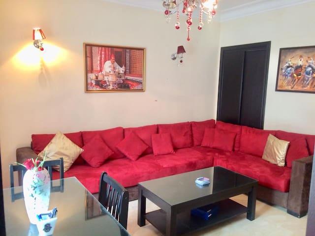 Cosy et moderne appartement de 50m2/Racine-Massira