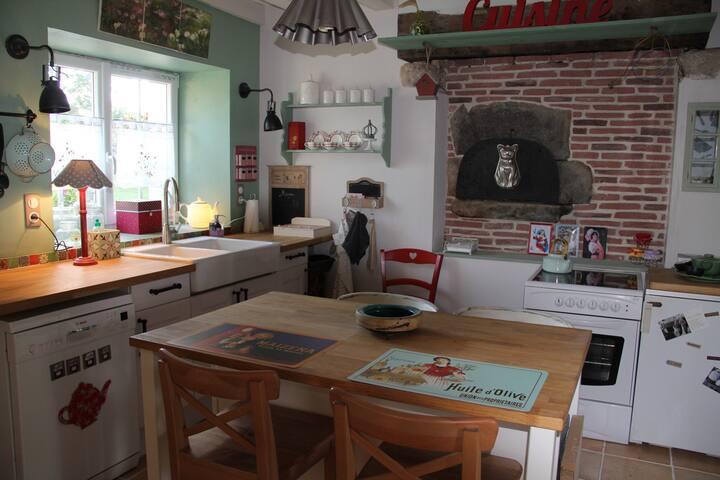 La jolie maison de Lucile - Bouesse - Rumah