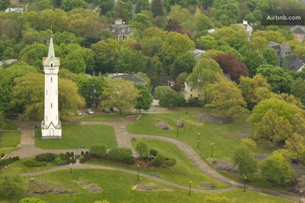Highland Park Steps away