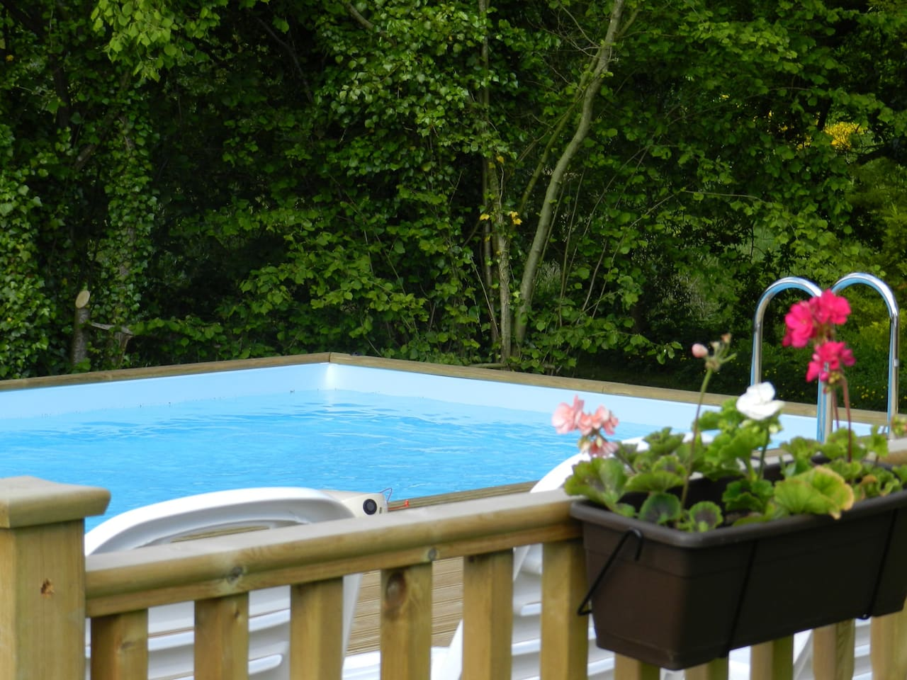 Shared Private Heated Swimming Pool
