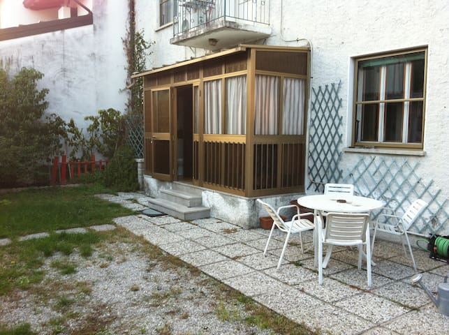 House with garden with private rooms N.1 - Cordenons - Huis