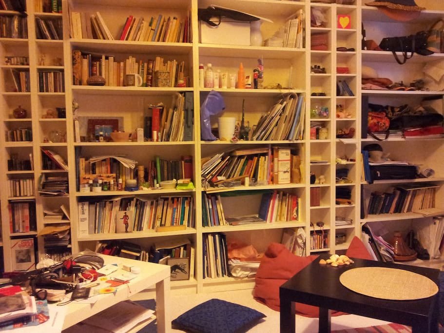 Poet's room - The room of an artist