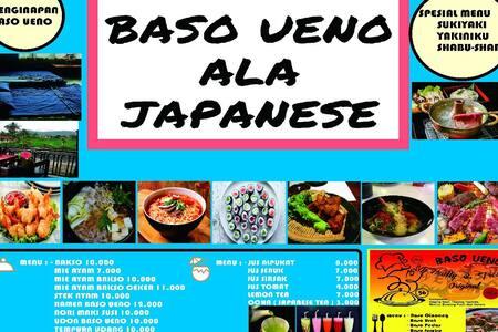 Baso ueno , resto dan penginapan ala japanese