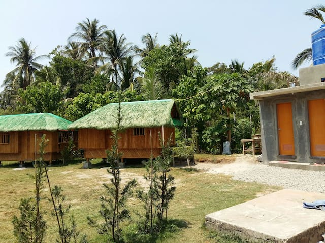 NipaHut#02 at Sarmiento Beach House - Anda - Rumah