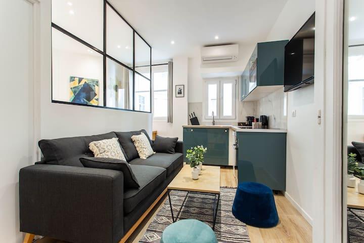 Superbe appartement- 4P- Porte Maillot - Doisy