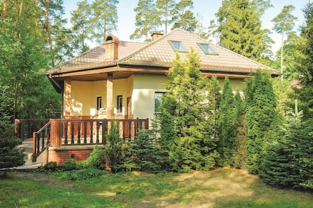 Holiday cottage with 4 bedrooms on 160m² in Grunwald