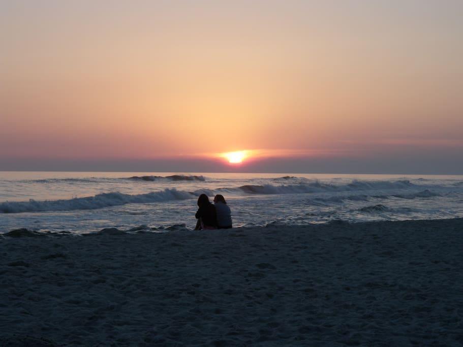 Sunset at Pinnacle Port Beach
