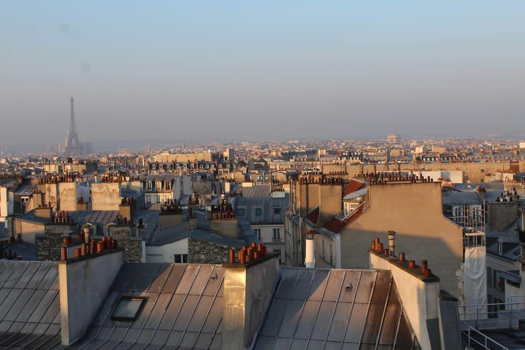Discover the multiples skies of Paris - Découvrez le ciel changeant de Paris
