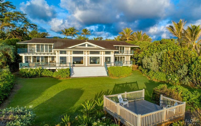 Private Oceanfront Estate in Kahuku North Shore!