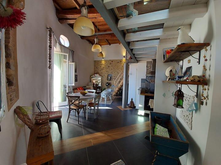 Casa con vista nel centro storico di Terracina