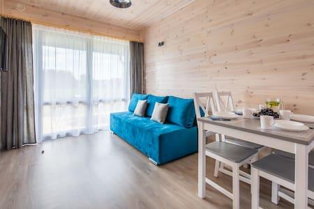 Apartament w domku drewnianym_Amelia