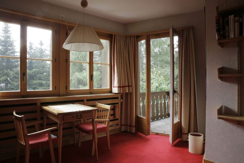 Marmotte room - balcony