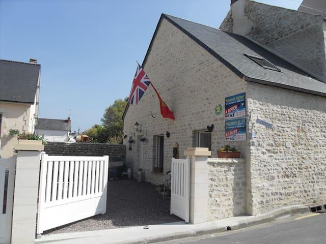 maison de pécheur  - Port-en-Bessin-Huppain - Casa