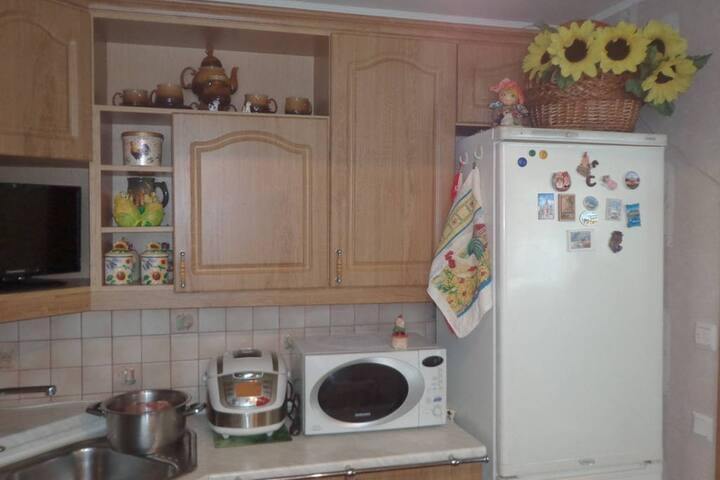 Квартира с украинским душевным теплом в Пушкине