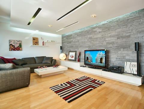 Modern Fancy Apartment Free garage