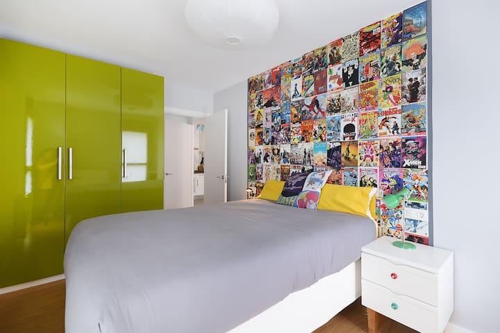 """Apartamento """"geek"""" cerca de Bilbao - Etxebarri - Daire"""