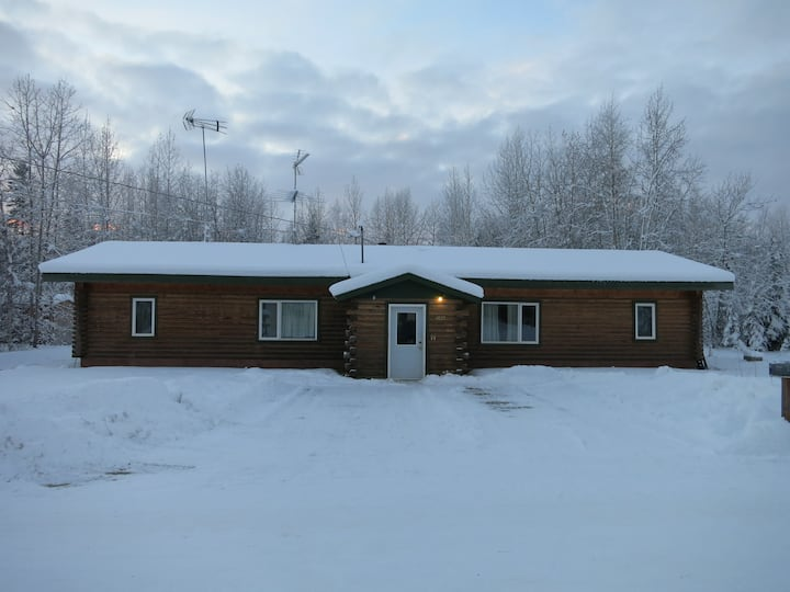 Log 2 Bed near Eielson Air Force Base, North Pole