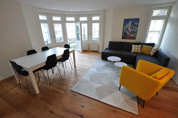 MATTERHORN - Big and cozy 4.5 room - WIFI/Laundry
