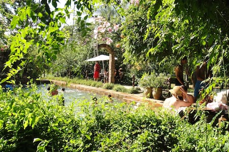 Granja Alte Liebe, cabaña familiar - Coronel Oviedo - Zomerhuis/Cottage