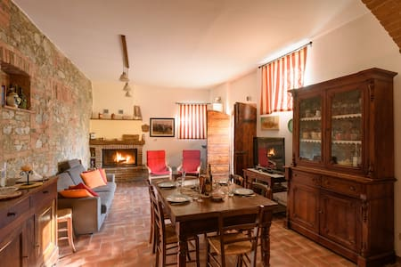 Casa San Piero Rental in Chianti - Castelnuovo Berardenga  - Hus