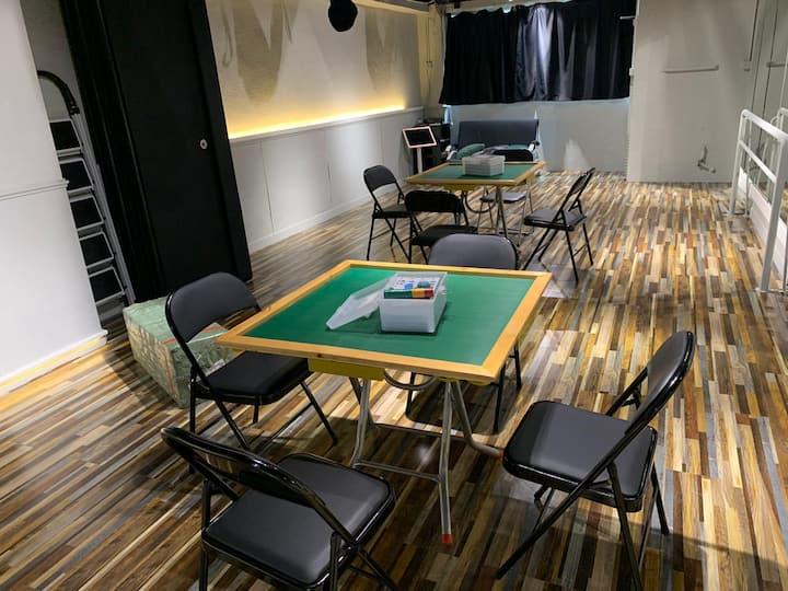 佐敦新裝修1300呎大面積全身鏡麻將唱k聚會水煙board game 舒適乾淨 值得一試