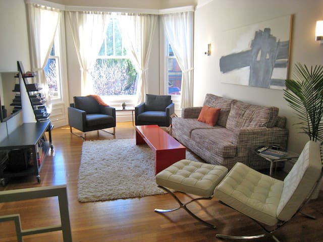 Amazing flat in Haight Ashbury