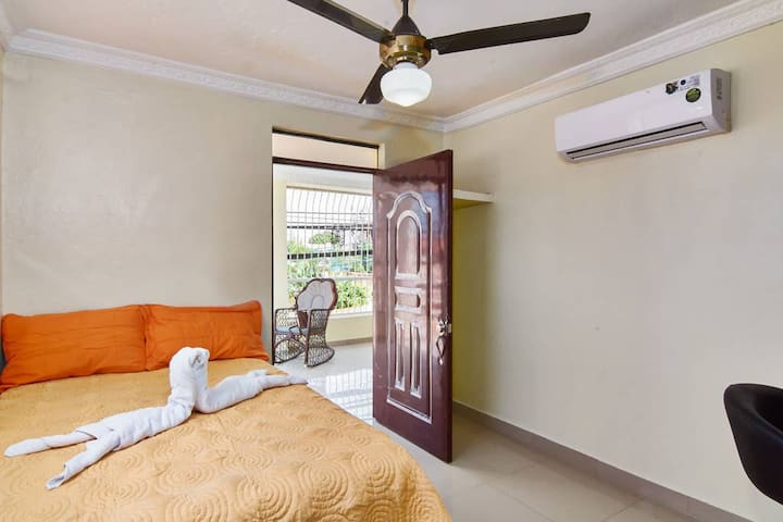Room wit air conditioning