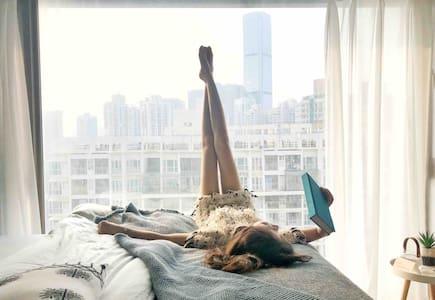 |卷儿·room1| 设计师北欧混搭风 直达香港/罗湖口岸&火车站/老街双地铁口/万象城kkmall