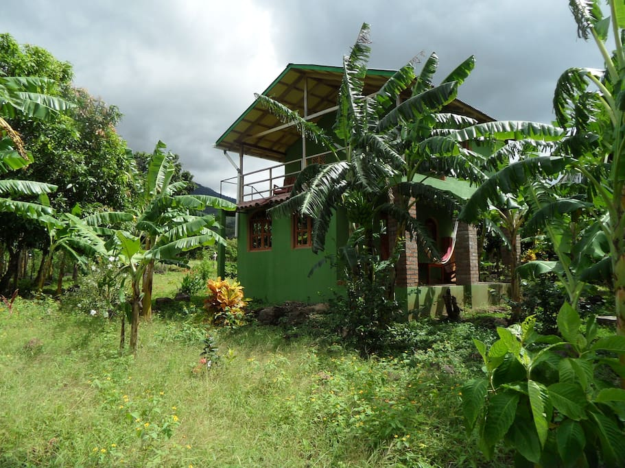 Casa verde.