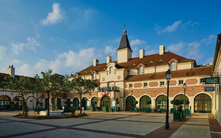 Marriott Village Resort 2b2ba Townhome near Disney - Bailly-Romainvilliers - ไทม์แชร์