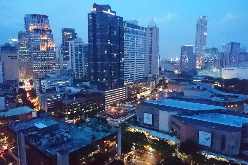 Makati CBD view