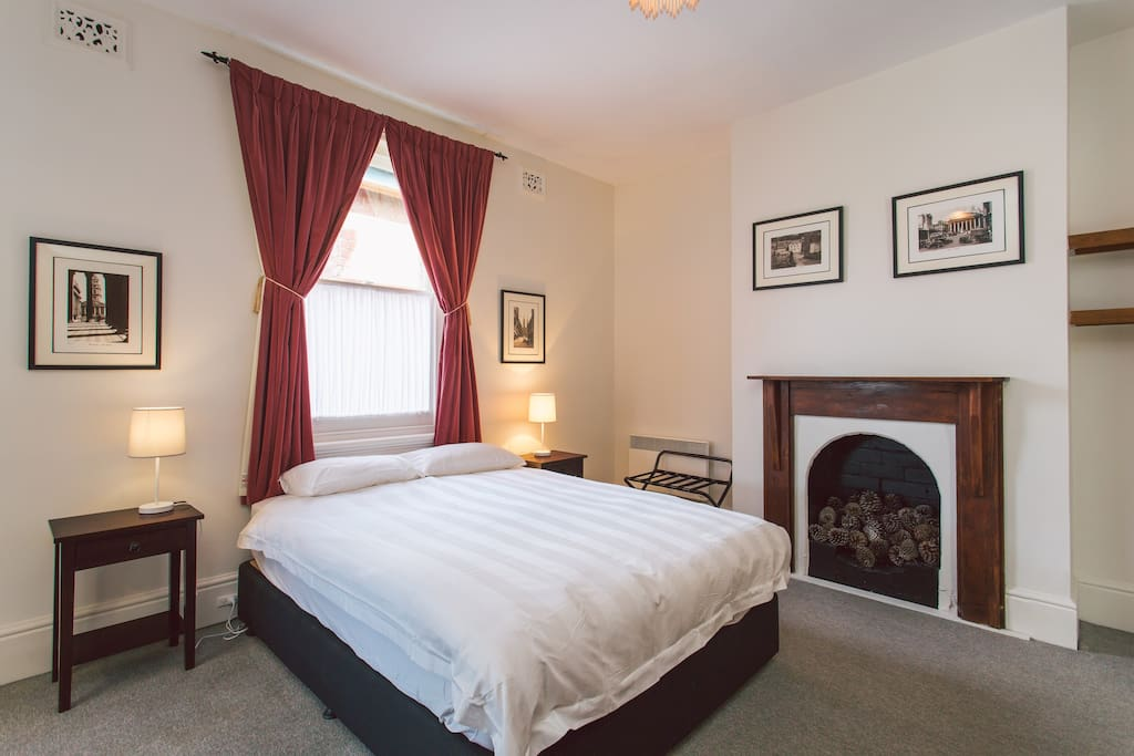 Bedroom 4 is located upstairs with a private ensuite