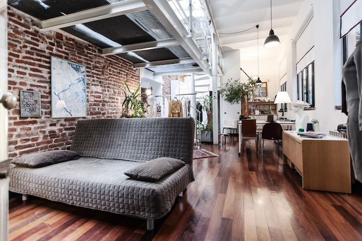 Milano centro delizioso loft (wi-fi - Milano - Loft