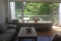 Central, sunny apartment