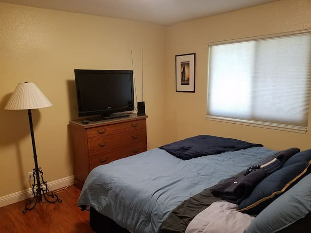 Master Bedroom Great for Long Stays