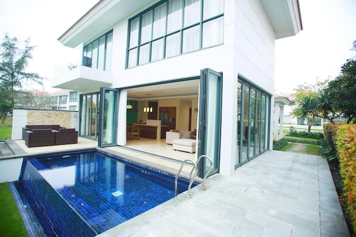 Private pool Villa for family relax