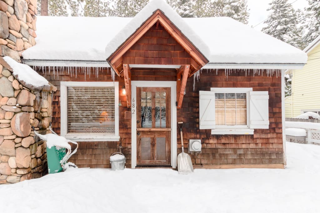 A Winter Wonderland in Tahoe Vista