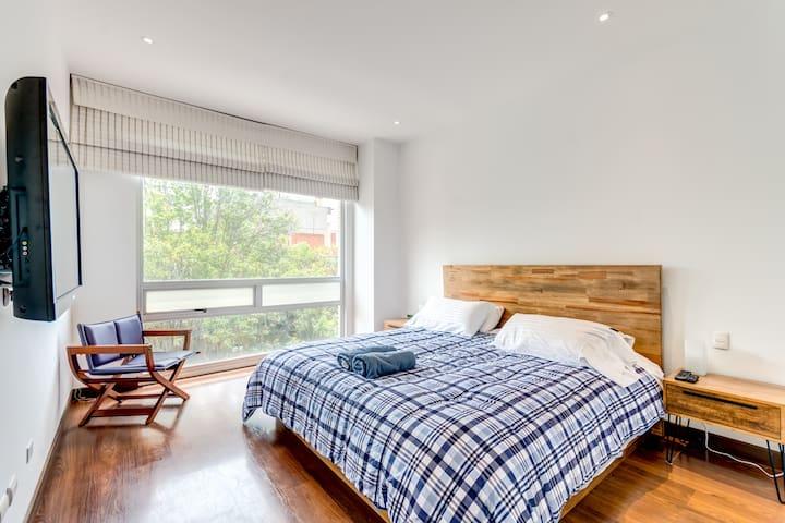 Brightful & Modern 2BR Apartment Next to Virrey