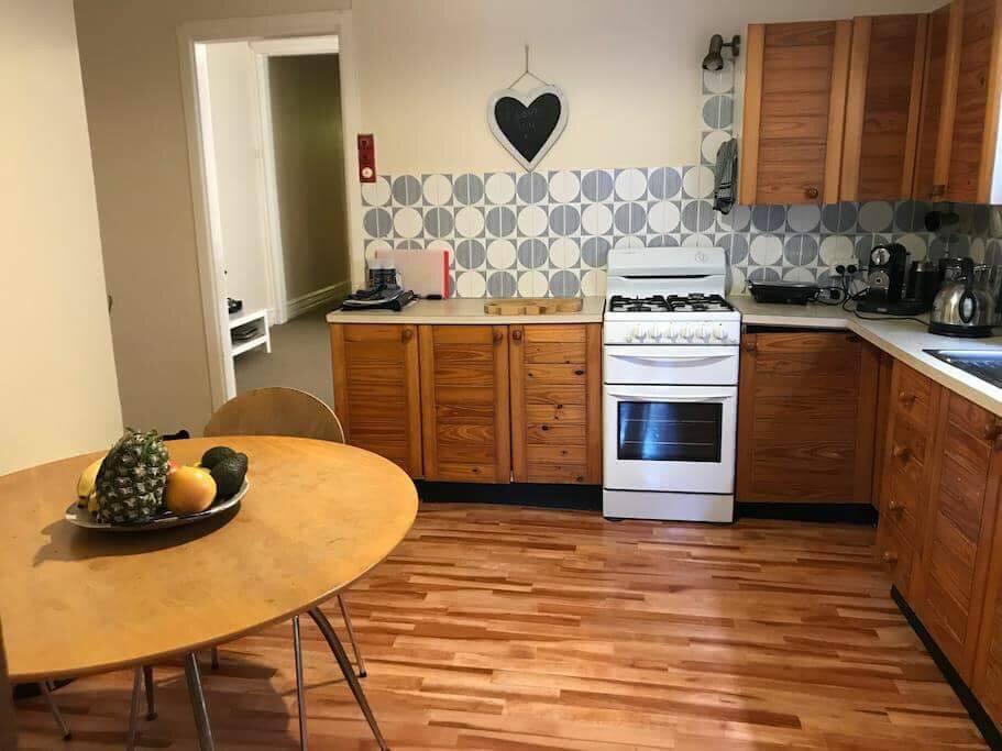 Kitchen seats 4