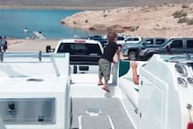 South Cove Launch to Lake Mead just 10 minutes down the street.