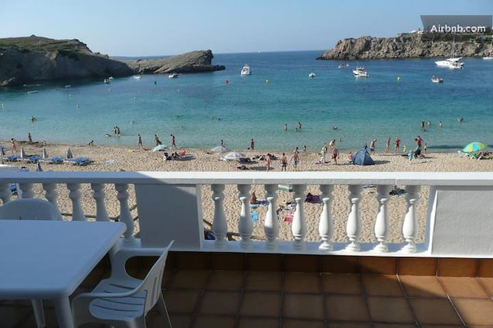 Fabuloso adosado 1ª linea de playa - Arenal d'en Castell