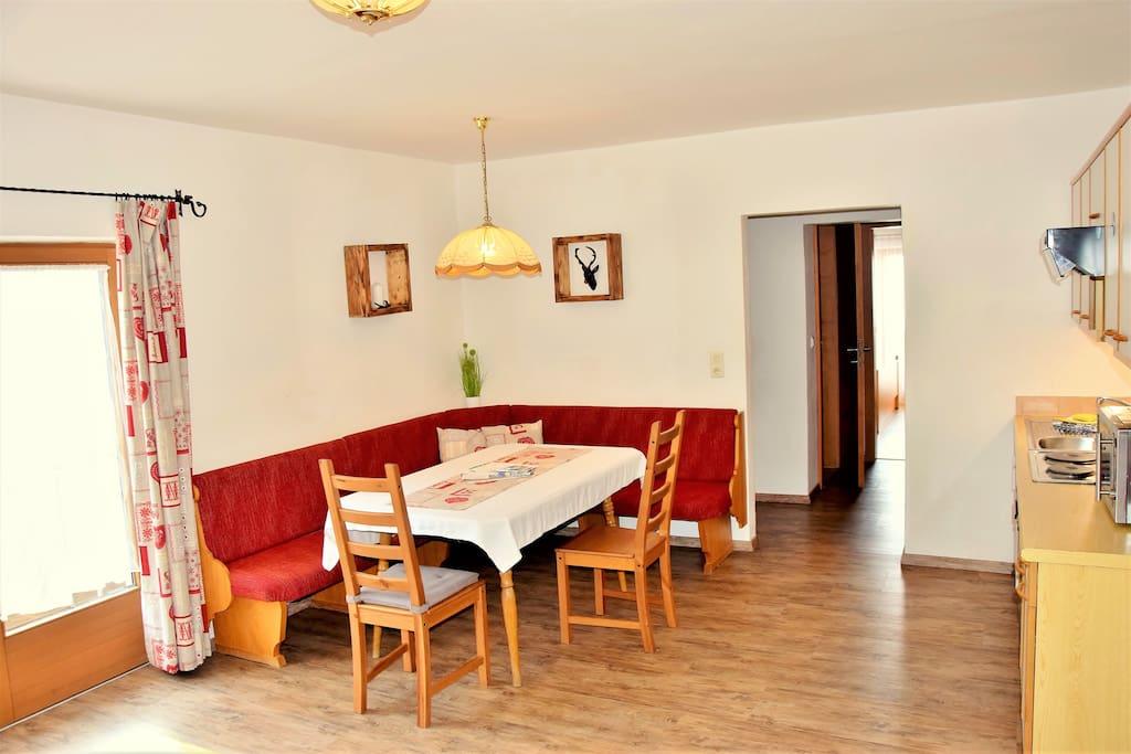 Sitzecke Apartment Rosskopf