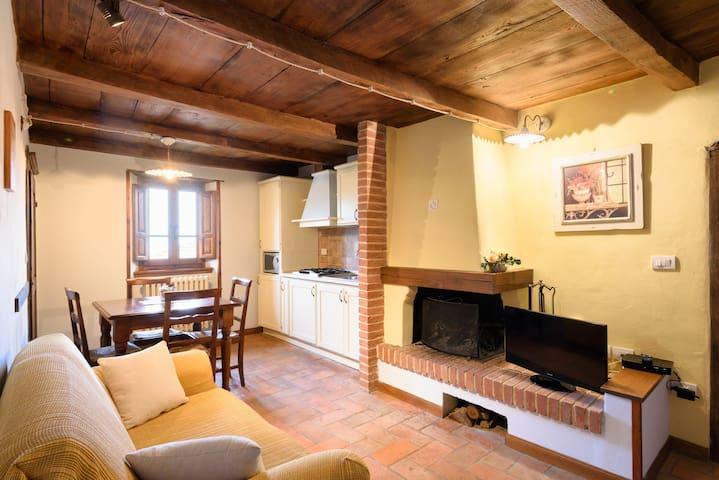 Tipico Appartamento 3 posti letto su due livelli. - Raggiolo - Apartment