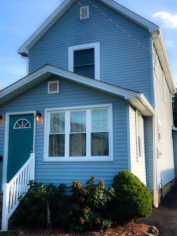 The Teal Door House